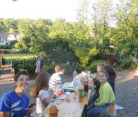 Die Jugend nach dem Essen