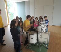 Vorstellung des Schlagzeugs