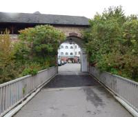 Eingang zur Jugendherberge