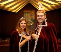 Prinzessin Lisa-Maria I. und Prinz Marvin I. freuen sich auf Sie!