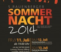 Plakat Rauenberger Sommerfest