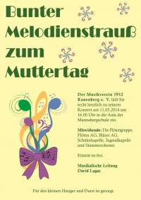 Muttertagskonzert am 11.05.2014