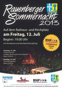 Rauenberger Sommernacht 2013