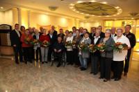 Die geehrten fördernden Mitglieder des Musikvereins.