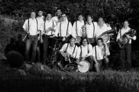 Sonntags gibt es Blasmusik u.a. mit den Pälzer Polkabuwen.
